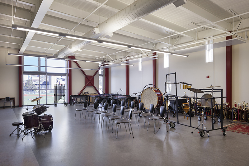 John Swett High School Music Room