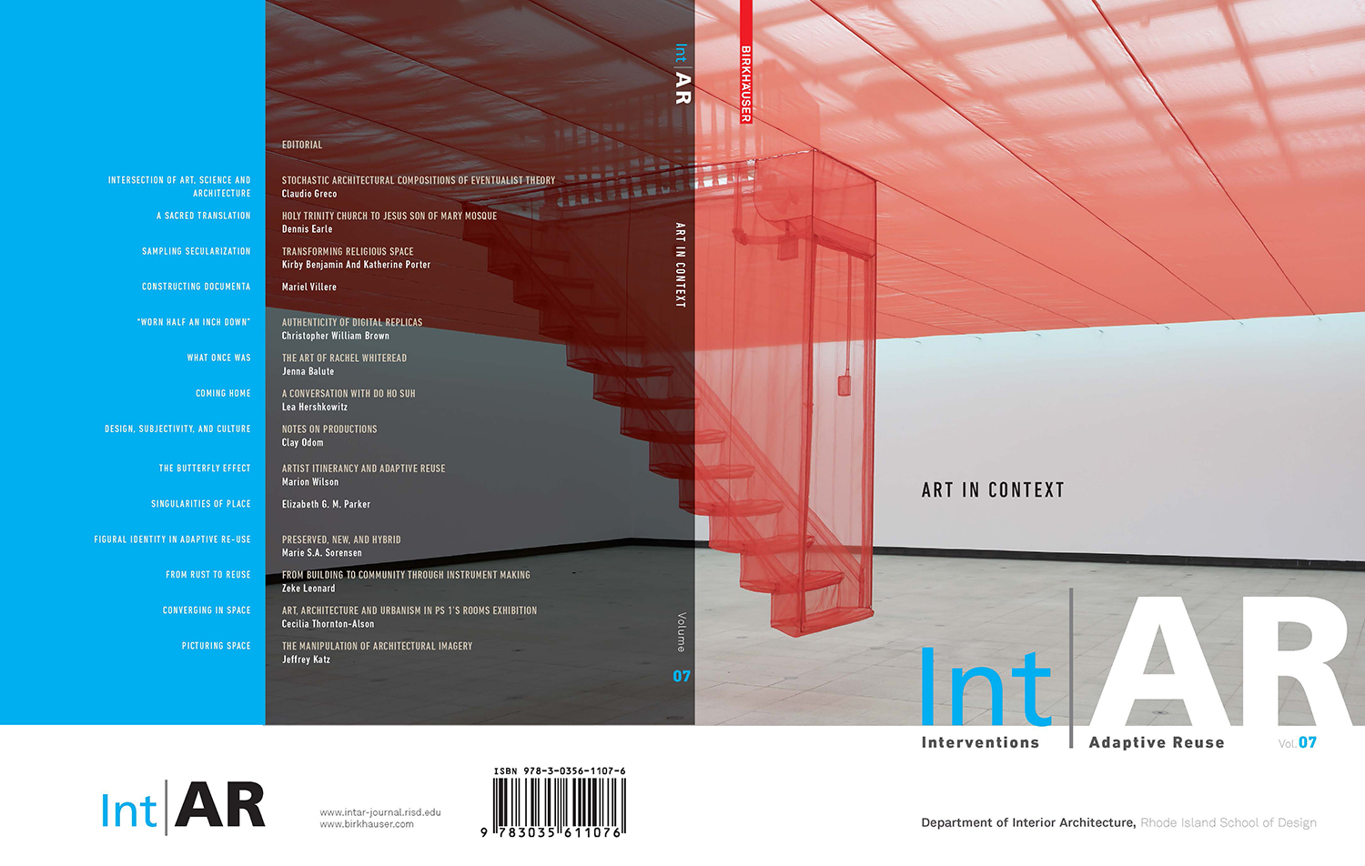Figural Identity in Adaptive Re-use : Preserved, New & Hybrid – Int|AR Volume 07