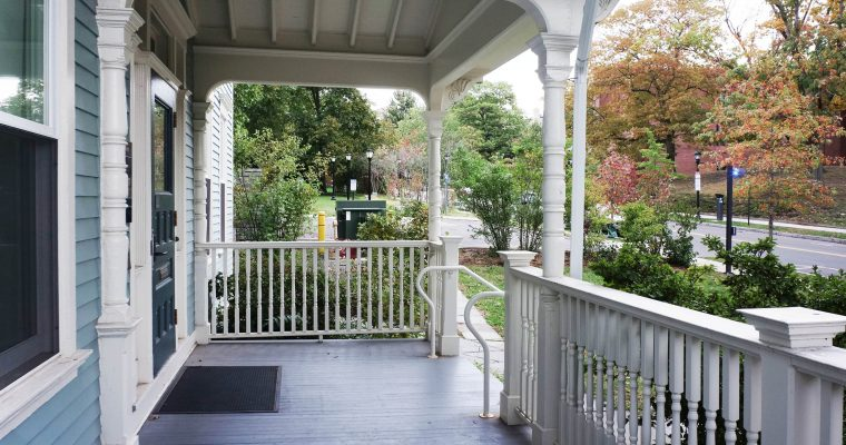 Yale University Housing Porches & Stairs Preservation & Reconstruction