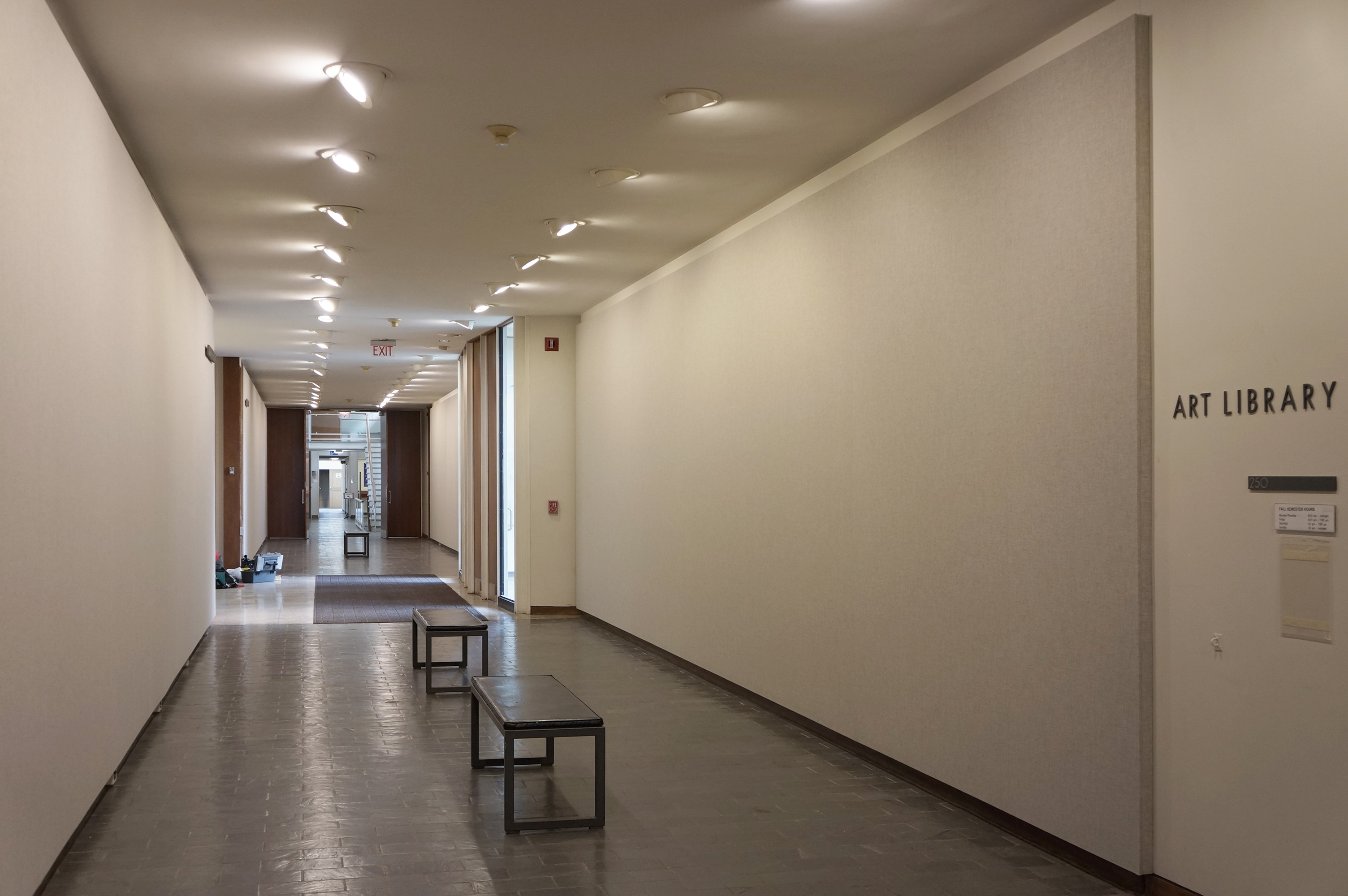 Lobby Restoration & Renovation for Wellesley College Jewett Arts Center – Wellesley, MA