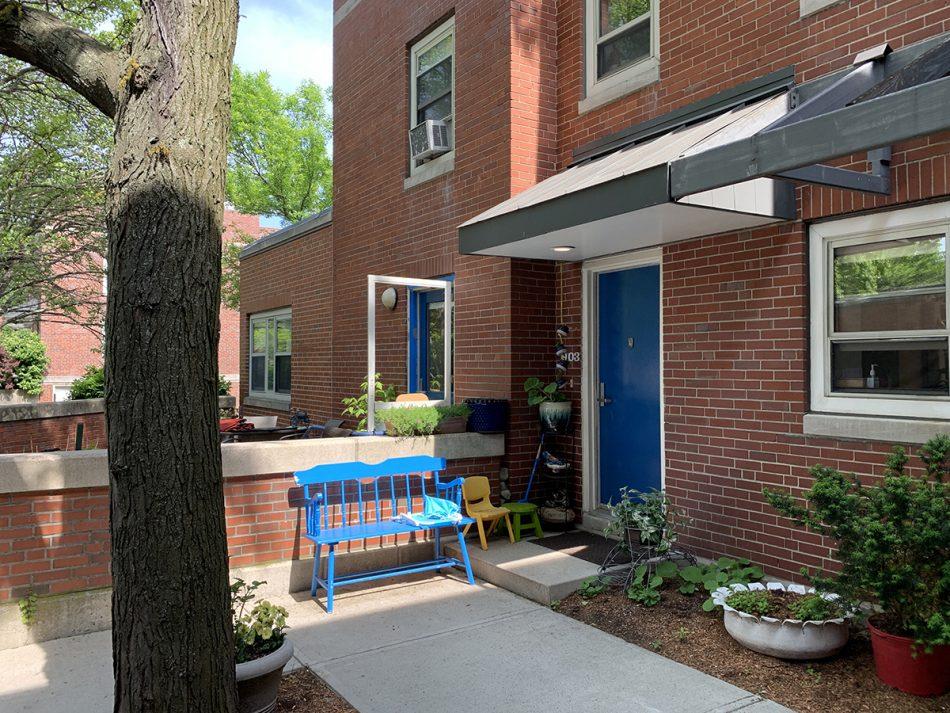 Boston Housing Authority Commonwealth Development Door