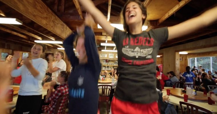 Dining Hall for Camp Marimeta for Girls – Eagle River, WI